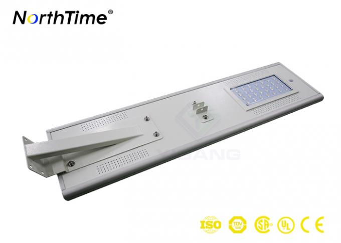 Mono PV Panel High Power Solar Lights LED Street Lamps 6-7 Hrs Charge Time