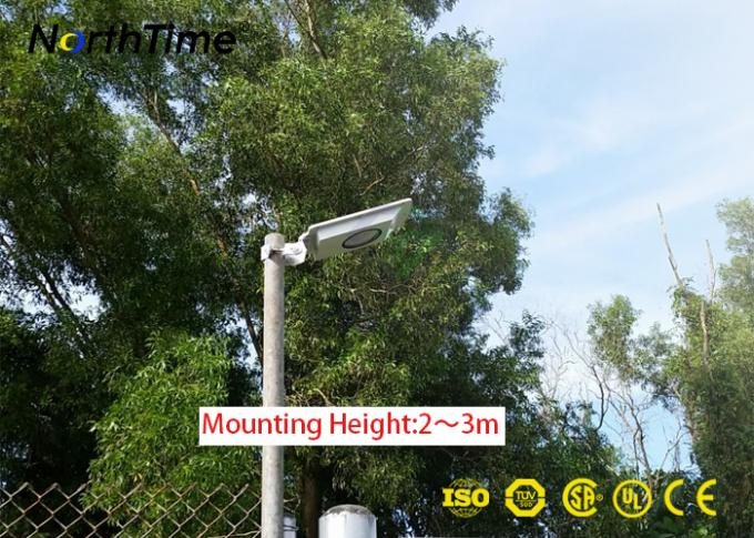 Automatically Smart Solar Street Light Outdoor 2-3 Meters Mounting Height