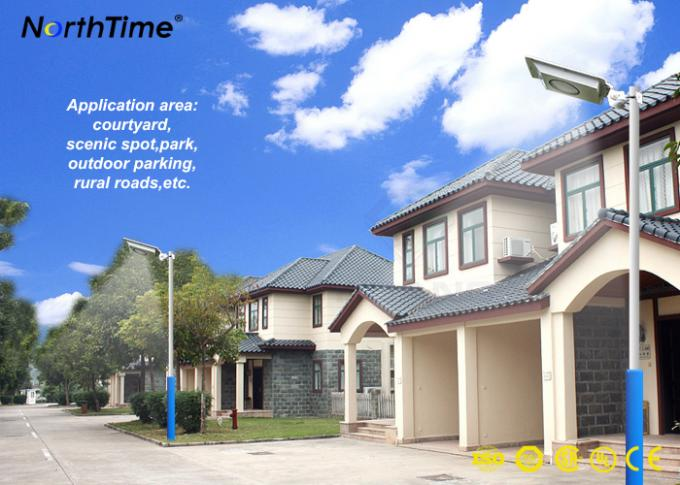 Solar energy street lights for Street Garden Lighting with PIR Sensor