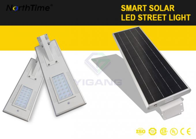 Rural Area Solar Powered 6M Pole Solar Street Light with 18AH Lithium Battery