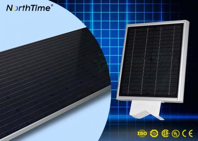 25 Years Lifespan Mono Solar Panel All in One Solar LED Street Light  with PIR Motion Sensor