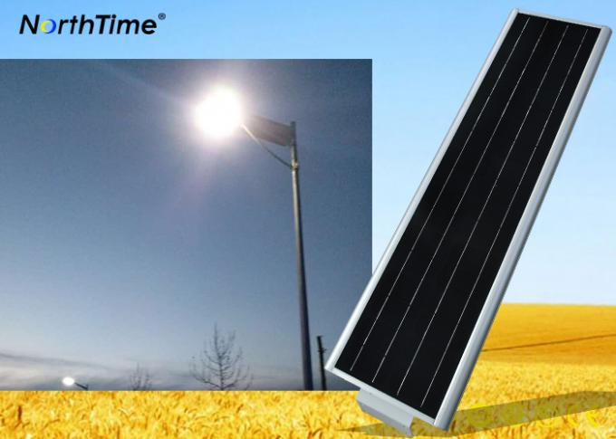 Solar powered garden lights Poles All in One for Street / Roadway