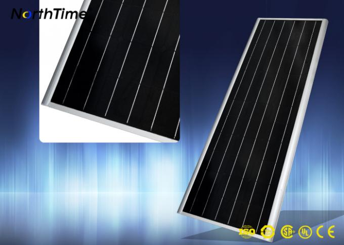 80W Solar Panel Street Lights 12V 60AH Lithium battery IP65 10m height