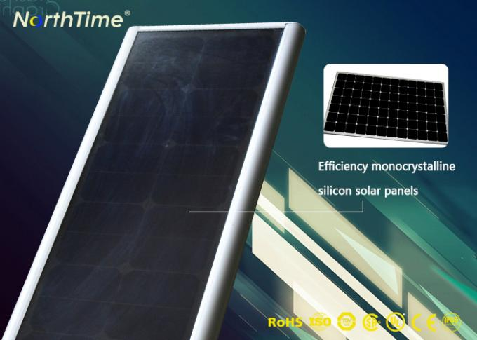 Super Bright Integrated Solar Panel LED Street Lights For School / Farm