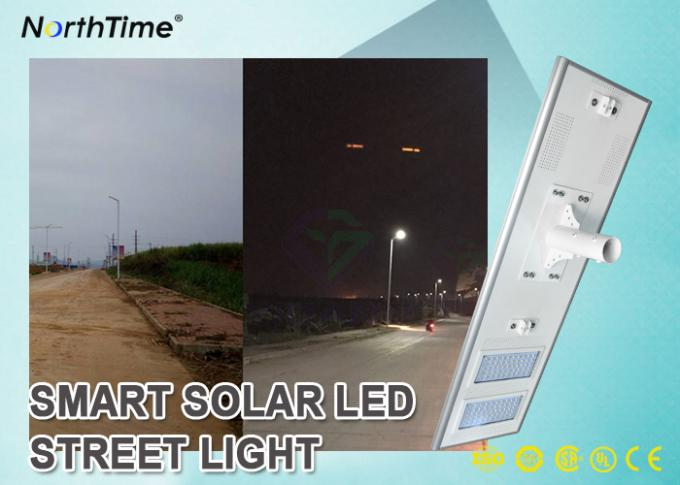 120 Watts Energy Saving IP65 Waterproof Outdoor All In One Integrated PIR Sensor Solar LED Street Lights