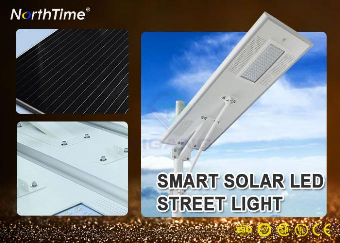 8500 - 9000LM Dimmable All In One Solar Street Light With 5 Year Warranty