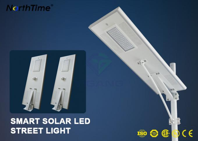 Dimmable Solar Energy Motion Sensor IP65 70W LED Street Lights Charge Controller