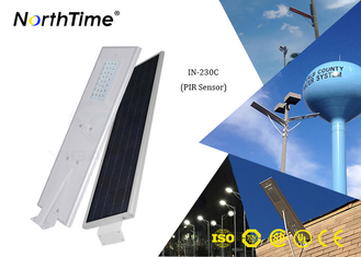 चीन Phone App Control 30W All In One Solar Street Light With 65W Solar Panel आपूर्तिकर्ता