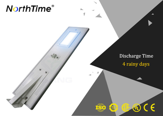 चीन 12V 26AH Lithium Battery LED Street Lamp Integrated Solar Light WiFi Function आपूर्तिकर्ता