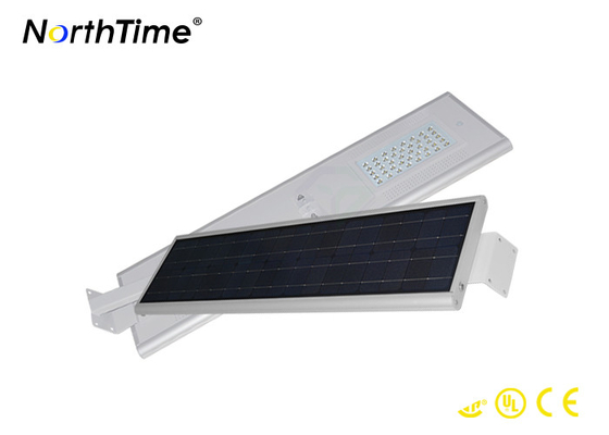 चीन 3300LM WiFi All In One Integrated Solar Street Light CE RoHs Certificated आपूर्तिकर्ता