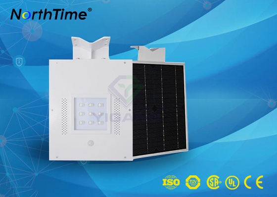 चीन Bridgelux LED Chips Automatic Solar Street Light All in One with WiFi Control आपूर्तिकर्ता