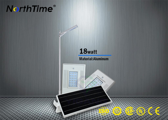 चीन Automatically Solar Powered LED Parking Lot Lights No Wiring 115LM / W आपूर्तिकर्ता