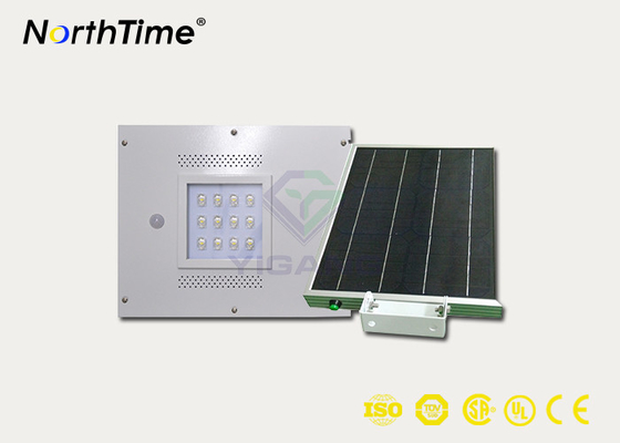 चीन 12W Integrated Solar Light Street Lamp With Sensor Aluminum Alloy Housing आपूर्तिकर्ता