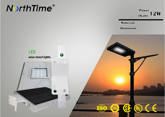 चीन Time Control High Power Solar Lights For Outside 12PCS Bridgelux LEDs आपूर्तिकर्ता