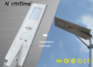चीन Infrared Motion Sensor Solar Panel Street Lights Outdoor With Lithium Battery आपूर्तिकर्ता
