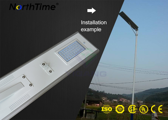चीन IP65 High Power Solar Lights Aluminum Automatic Street Lighting With Solar Panel आपूर्तिकर्ता