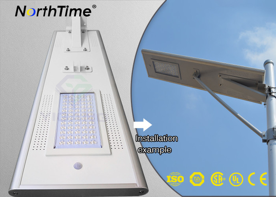 चीन Sun Charging Long Lighting Time Solar Panel Street lights with Infrared Motion Sensor आपूर्तिकर्ता