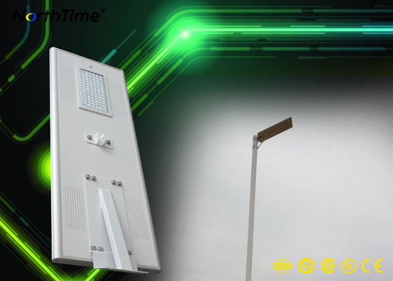 चीन 80W Solar Panel Street Lights 12V 60AH Lithium battery IP65 10m height आपूर्तिकर्ता