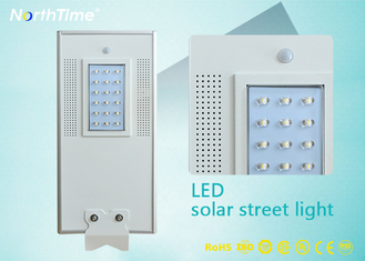 चीन All in One Solar Panel Street Lights LED Luminaires with Lithium Battery / PIR Motion Sensor आपूर्तिकर्ता