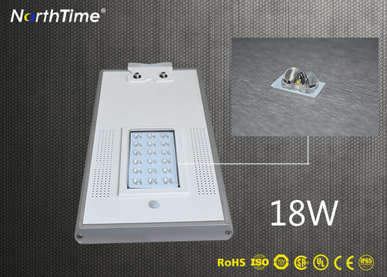 चीन 18W Automatic Time Control Solar Powered Road Lights Outdoor with CE RoHs Certificates आपूर्तिकर्ता