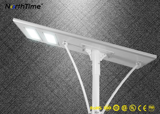चीन 100W Photovoltaic System Solar Light All in One Solar Led Street Light With 5 Years Warranty आपूर्तिकर्ता