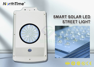 चीन Free Sample 6W All-in-One Solar Garden LED Street Lights With Lithium Battery 4AH आपूर्तिकर्ता