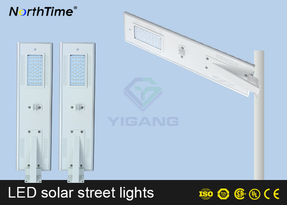 चीन Automatic On / Off  Solar Power LED Street Lamp With Solar Panel & Li Battery आपूर्तिकर्ता