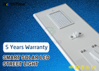80Watt IP65 Smart Phone APP Control LED Smart Solar Street Light 5 Year Warranty