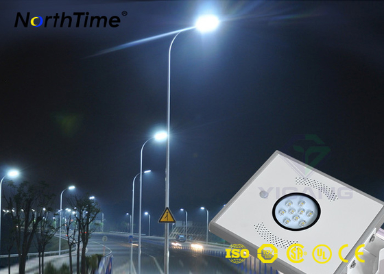 चीन 900-950 LM IP65 All In One Solar LED Street Light Outdoor CE RoHs Approved फैक्टरी