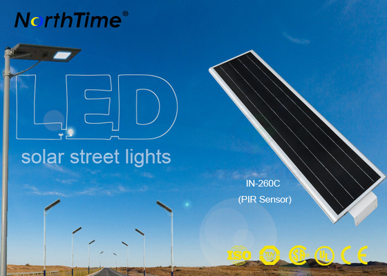 चीन Pathway Solar Powered LED Street Light With Intensity Control Maintenance Free फैक्टरी