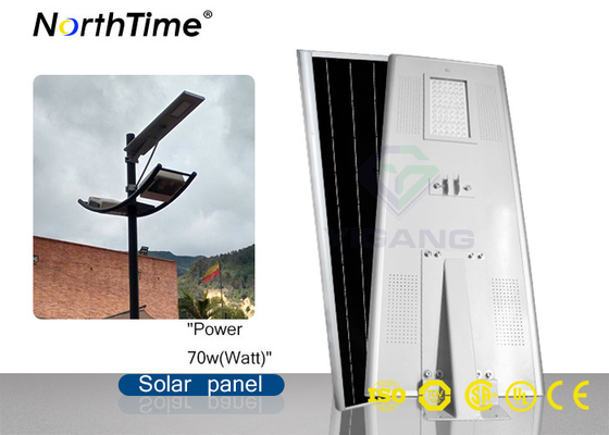 चीन High Power Solar Led Street Light with Lithium Battery  Bridgelux LED Chips फैक्टरी