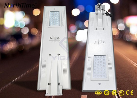 चीन Smart LED Solar Street Lights with Bridgelux LED , Solar Powered Led Street Lights फैक्टरी
