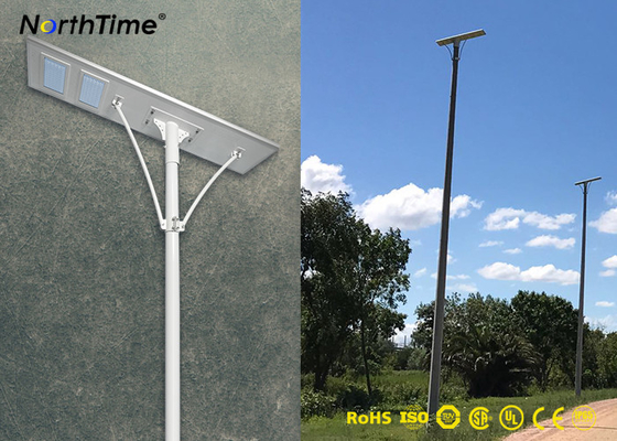 चीन PIR Motion Sensor 100W High Power Solar Lights All in One Design Powered Outdoor Solar Lighting वितरक