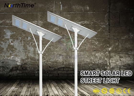 चीन 100W Energy Saving Solar Powered LED Street Lights With Controller & Li Battery फैक्टरी