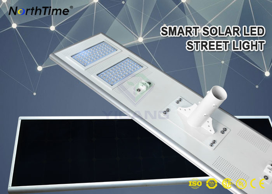 चीन Outdoor Solar Panel Street Lights 100W 11000LM Solar Pole Lights With 5 Year Warranty फैक्टरी