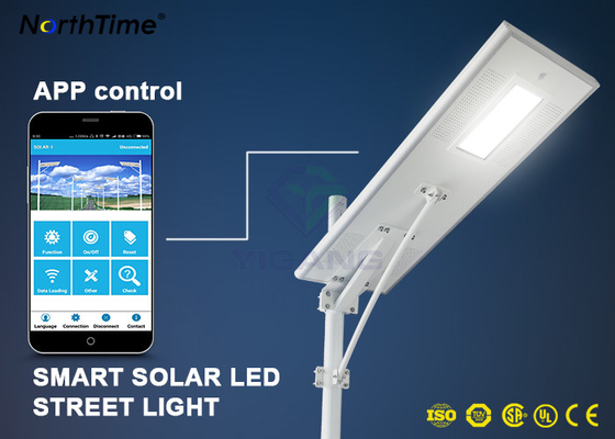 चीन Dimmable Solar Energy Motion Sensor IP65 70W LED Street Lights Charge Controller वितरक