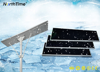 5 Year Lifespan 90AH Lithium Battery All In One Solar Led Street Light With Solar Panel